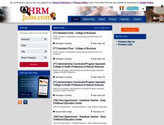 hrmjobs.com screenshot