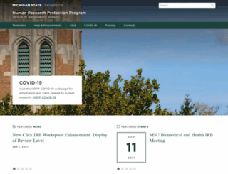 hrpp.msu.edu screenshot