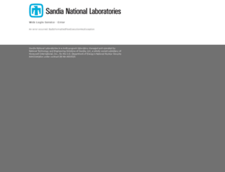 hrprod.sandia.gov screenshot
