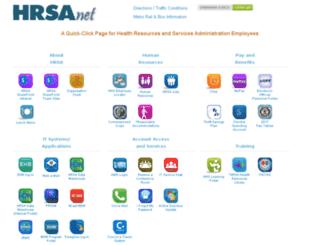hrsanet.hrsa.gov screenshot