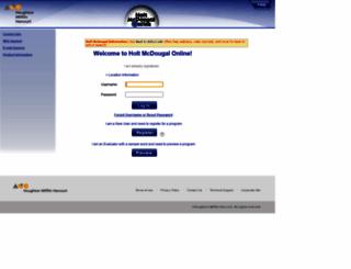 hrw.com screenshot