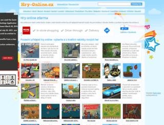 hry-online.cz screenshot