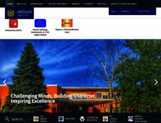 hs.ardsleyschools.org screenshot