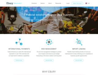 hs.ebury.com screenshot