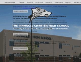 hs.thepinnacleweb.org screenshot
