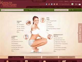 hsanctuary.com screenshot