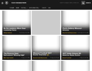 hsarkansas.scout.com screenshot