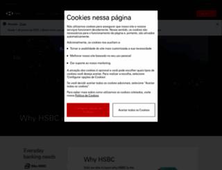 hsbc.com.br screenshot
