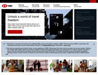 hsbc.com.vn screenshot