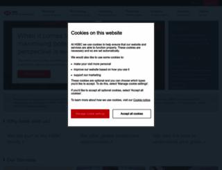 hsbcprivatebank.com screenshot