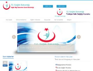 hsbs.saglik.gov.tr screenshot