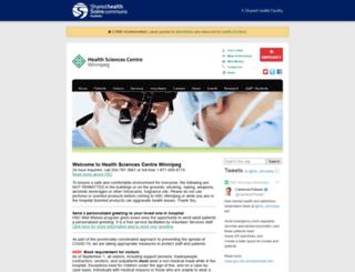 hsc.mb.ca screenshot