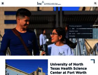 hsc.unt.edu screenshot