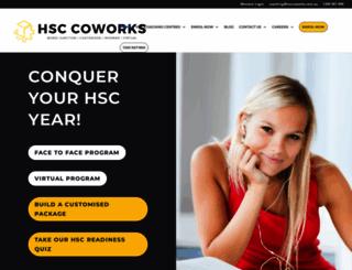 hsccoworks.com.au screenshot