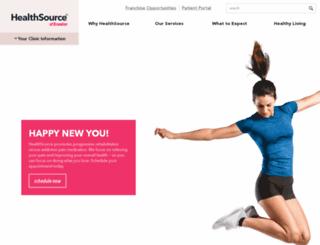 hschiropracticofbrandon.com screenshot