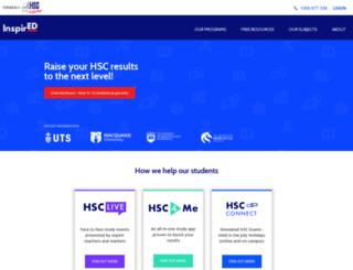 hscintheholidays.com.au screenshot