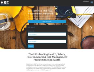 hserecruitment.co.uk screenshot