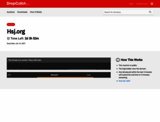 hsj.org screenshot