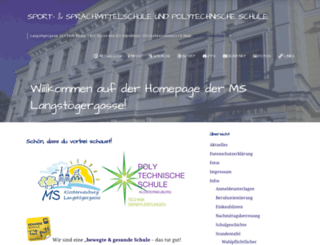 hsklosterneuburg-langstoeger.ac.at screenshot