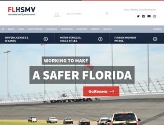 hsmv.state.fl.us screenshot