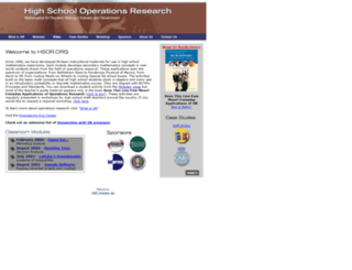 hsor.org screenshot
