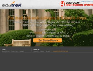 hss.edutrek.com screenshot