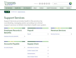 hssbc.ca screenshot