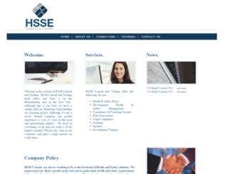 hsseconsult.com screenshot
