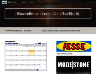 hsvu.fi screenshot