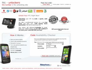 htc-unlockers.com screenshot