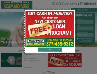 htcashadvance.com screenshot