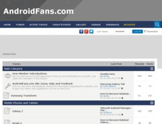 htcdesirehdforum.com screenshot
