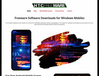 htcfreeware.com screenshot