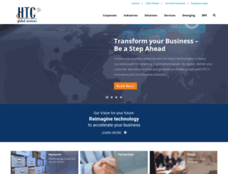 htcglobalservices.com screenshot