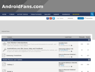 htcincrediblesforum.com screenshot