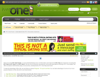 htconeforum.com screenshot