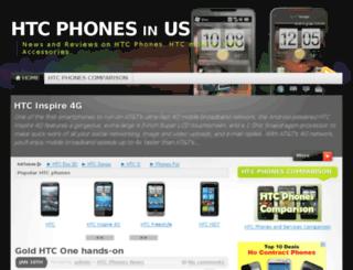 htcphones.us screenshot