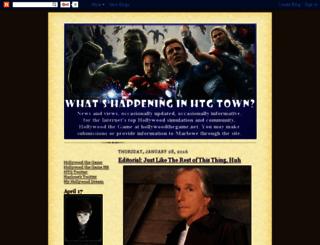 htgtown.blogspot.com screenshot