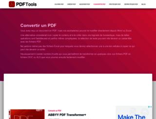 html-2-pdf.com screenshot