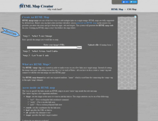 html-map.com screenshot