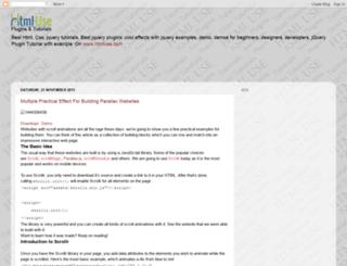 html-use.blogspot.in screenshot