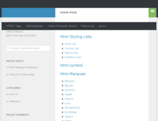html5.developnew.com screenshot