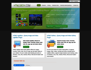 html5box.com screenshot