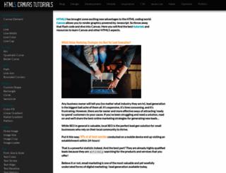 html5canvastutorials.com screenshot