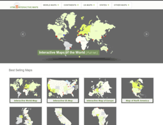 html5interactivemaps.com screenshot
