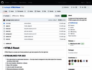 html5reset.org screenshot
