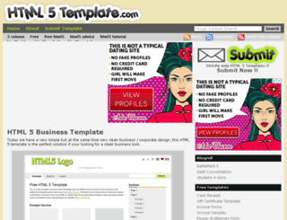 html5template.com screenshot