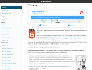 html5tutorial.info screenshot