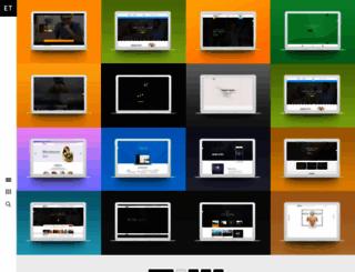 htmlbeans.com screenshot