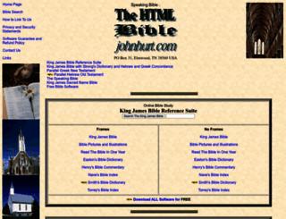 htmlbible.com screenshot